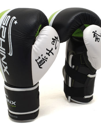 "SGT5-1 SPHINX ""STEALTH FHX"" GUANTO PRO 10 OZ Boxing Kickboxing Thai Fullcontact PELLE"