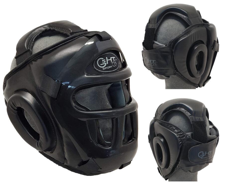 G5-HT CASCHETTO PROTEZIONE TOTALE CON GRIGLIA PVC IN PLASTICA GRATA CASCO NASO
