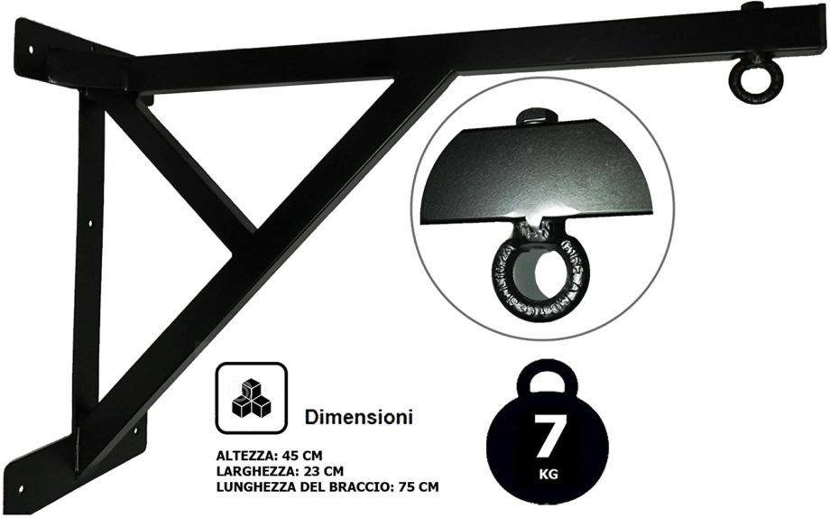 G5 HT Supporto appendisacco Sphinx Made in Italy