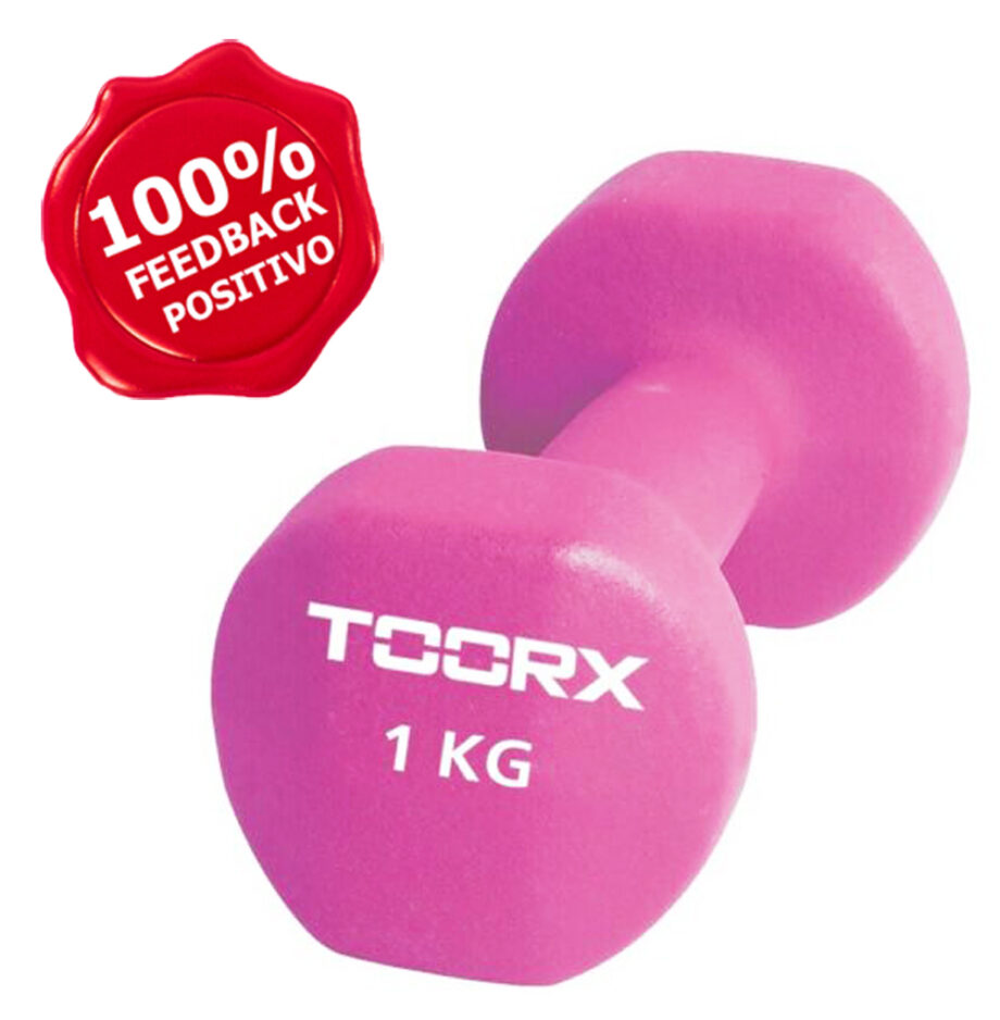 Toorx Manubrio in Neoprene 1 Kg Rosa
