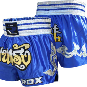 pantaloncini, pantaloncini muay thai, pantaloncini blu muay thai, shorts muay thai