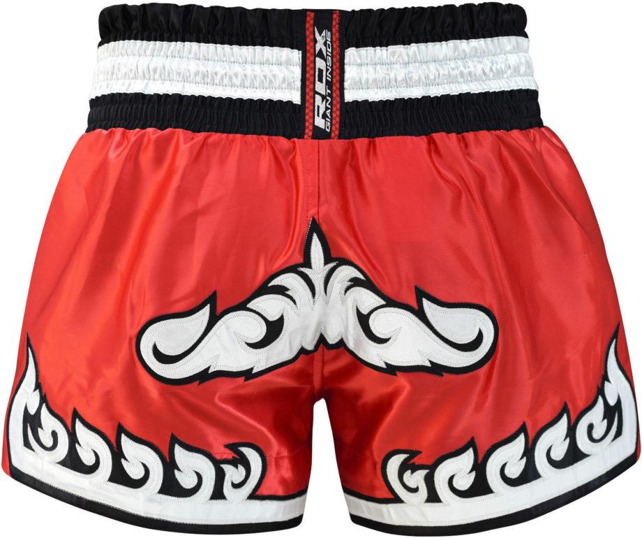 pantaloncino, pantaloncino muay thai, pantaloncino rosso, shorts muay thai