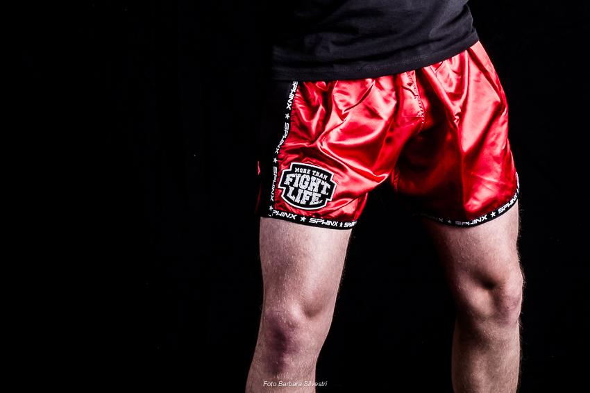 pantaloncino. nero, slimfit, kickboxing
