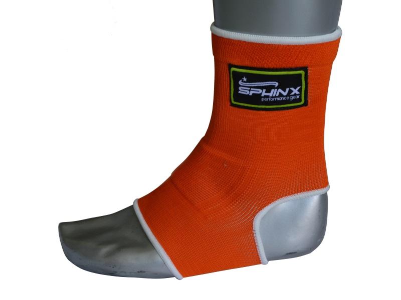 cavigliera, cavigliera arancione, cavigliera fluo, protezioni, protezioni boxe, mma