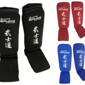 paratibie, paratibia a calza, kickboxing, thai boxe, protezioni, paratibie nere, paratibie rosse, paratibie blu