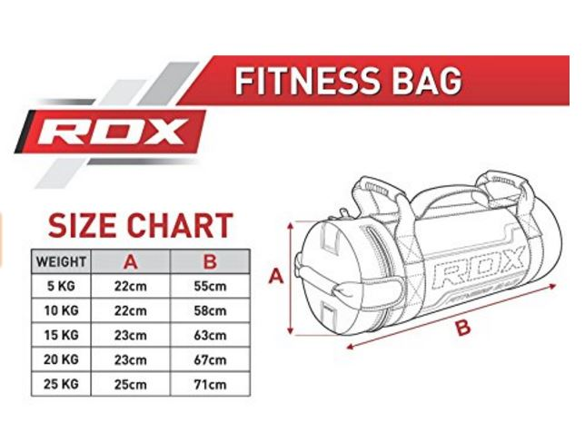 borsa fitness, sand bag, power bag, borsa pesante