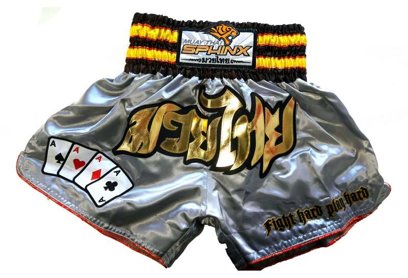 pantaloncini, pantaloncini argento, pantaloncini muay thai, pantaloncini kickboxing, shorts