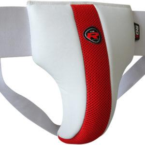 Protezione inguinale, protezione inguinale bianca rossa, Protezioni boxe, boxe